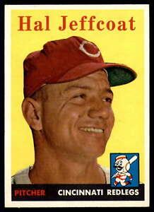 1958 Topps #294 Hal Jeffcoat Reds EX/NM