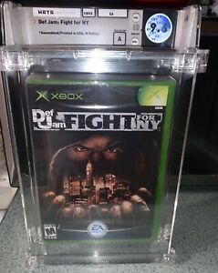 Xbox Def Jam Fight For NY Sealed Graded WATA 9.6 A  WIll Come As Shown!!!