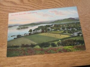 Postcard of Luss from Stone Hill, Loch Lomond (Unposted)