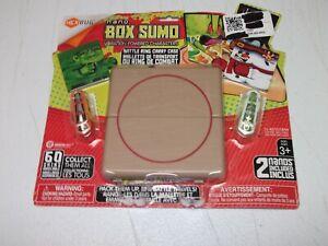 HexBug Nano Box Sumo Carry Case Battle Ring SEALED + Ninja Monster Characters