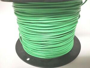 12awg 12ga silver plated Teflon Strand wire green $ per 10ft section  freeshippg