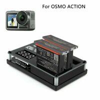 Intelligentes Ladegerät Hub Für DJI OSMO ACTION Sportkamera Lithium 1300mAh Akku