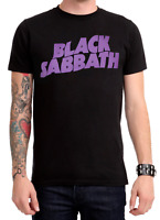 BLACK SABBATH PURPLE LOGO Ozzy Osbourne T-Shirt NEW Licensed & Official