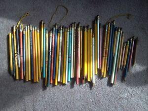 old advertising Wood Pencils; Nebraska