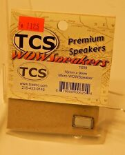 TCS #1699 16mm x 9 mm Micro WOW Speaker for DCC NEW