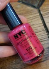 NEW! NYC Nail Polish Enamel in PINK PROMENADE CREME