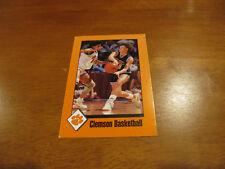Clemson Women's Basketball 1992/93 Pocket Schedule