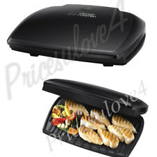 George Foreman 23440 10 Portion Entertaining Grill Black Brand New