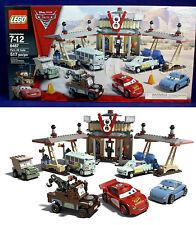 New - FLO'S V8 CAFE - Lego 8487 Disney Pixar CARS - McQueen FILLMORE Mater SARGE