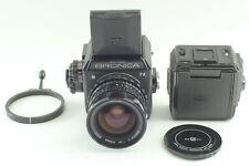 [ Quasi Mint] Zenza Bronica Ec-Tl II Fotocamera W/Nikkor-O 50mm F2.8 Lente Da