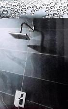 New B&Q Select Luxury Concealed Linear Chrome Mixer Shower With Square Head
