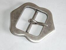 Gürtelschnalle Schließe Schnalle Verschluss 3,5 cm altsilber NEU rostfrei 509.2#