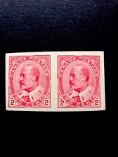 Canada 1903/09 Pale Rose Carmine SG 177a Imperforate Pair MNH