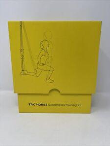 TRX Home Gym Suspension Training Kit Bodyweight Resistance System - Yellow/Black