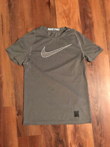Boys Nike Pro Shirt Youth Large 14/16 Compression Fitted Nwot