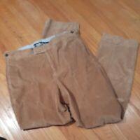 Bobby Jones Cotton wide wale Corduroy Pants NWT 32 x 31  $145 Camel Tan