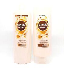 120ml. Set of Sunsilk Natural Shampoo & Conditioner Almond & Honey Anti-Breakage