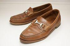 Allen Edmonds Concord Ave. 11.5 Brown Bit Loafer Men's