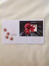 2006 - Australian Wildflowers $10 Waratah Minisheet FDC