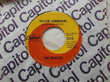 CANADA!!! THE BEATLES Yellow Submarine / Eleanor Rigby 1966 1st Press CAPITOL 45