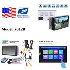 7 '' 2DIN HD Touch Screen Car MP5 Player Bluetooth FM Radio Backup Camera USB