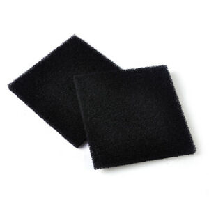2x Universal Activated Carbon Foam Sponge Air Impregnated Sheet Filter Pad AT