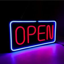 Ultra Bright Wall Led Neon Light Animated Motion Hanging Open Business Sign Lamp