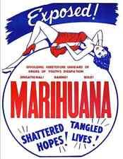 "16mm Trailer ""Marihuana"" (1936) Classic Exploitation Trailer!"