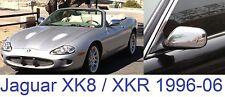 Jaguar XK8 XKR 4.0 4.2 R 1996-06 Pair of Full Chrome Mirror Covers/Caps