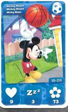 Carte Mickey Mouse & Friends - n° 55 - Mickey Mouse - Sport - 2012