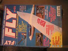 ** Fly magazine n°50 F-16 PSS Topmodel / ASP 52  4 temps / ASH 26 Graupner