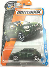 '16 FIAT 500X #3 /125 Matchbox 2017 Mattel Hot Wheels
