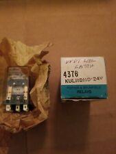 Potter & Brumfield KUL11D11D-24 DPDT 5A 24VDC 2 Form C coil latch relay