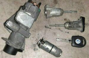 98-01 Volkswagen Passat Keyset: Ignition Doors & Trunk w Key Complete Lock Set