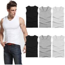 Sports Mens Compression Vest Shirt Work Out Bodybuilding Base Stretchy Tank Tops