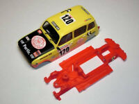 Chasis Renault 4 Block lineal EVO compatible SCX Scalextric ES Mustang Slot