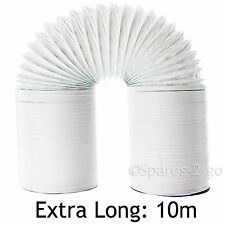 UNIVERSAL 10m Extra Strong Tumble Dryer Vent Hose Long Exhaust Pipe 10 Metre