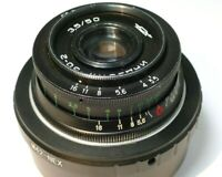 Industar 50mm f3.5 M42 mount lens manual focus adapted Sony E mount a6500 a6600