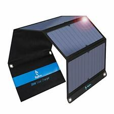 28W Solar Charger Foldable Outdoor Solar Powered Charger With SunPower