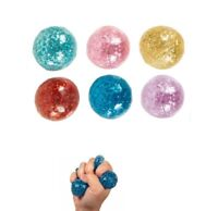 1 Slo-rise squishy sparkle squeeze stress ball anxiety autism fidget for kids