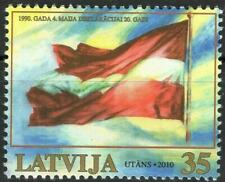 Latvia 2010 Declaration of May 4th 1990, Flags MNH**