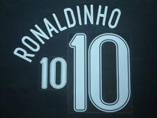 RONALDINHO NOME+NUMERO UFFICIALE BRASILE AWAY FIFA WC 2006 OFFICIAL NAMESET