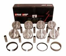 Speed Pro H273CP Ford 302 Pistons & Ring Kit Flat Top Pistons Std