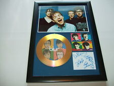 BLUR   SIGNED GOLD CD  DISC 92