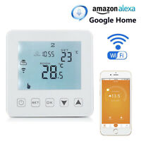 Wifi Thermostat Central Heating Room Thermostat Boiler Underfloor Heating Alexa