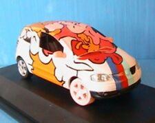 VW VOLKSWAGEN FOX 1.4 ART CAR RAIMBOW SCHUCO 1/43 COLOR ARC EN CIEL