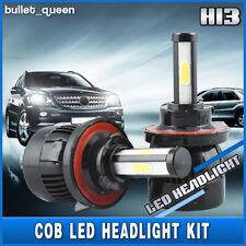 H13 9008 80W 8000LM 4-Sided LED Headlight Bulbs Kit For Chevy Camaro 2010-2013