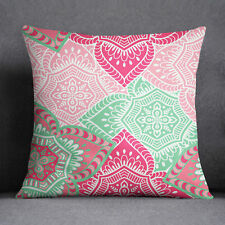 S4Sassy Multicolor Decorative Cushion Cover Floral Print Square Pillow Case
