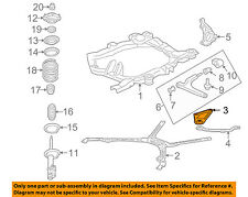 GM OEM Front Suspension-Engine Cradle Reinforcement Left 22671096
