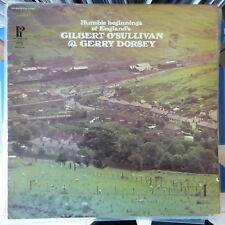 GILBERT O'SULLIVAN/GERRY DORSEY LP THE HUMBLE BEGINNINGS 1973 USA VG++/VG++